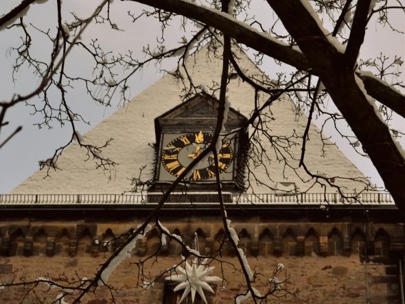 Ziffernblatt Münsterkirche